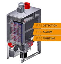 brandblussysteem met snelopeningsvoorziening
