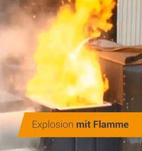 explosiedrukontlasting aan explosiedrukvaste Herding filterinstallaties