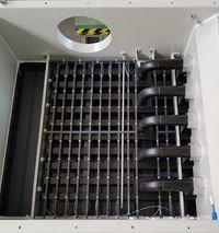 detectoren in de Herding filterinstallaties